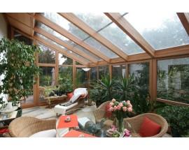 Поликарбонат как основа для зимнего сада
